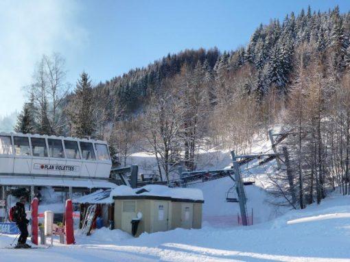 accès unique et privilégié au domaine de ski de Paradiski,